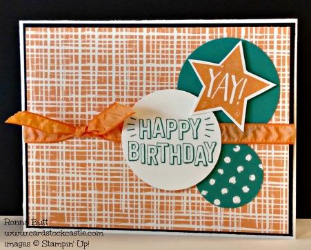 #CardstockCastle #PlayfulPalette #StampinUp #PPA310 #Birthday #ConfettiCelebration